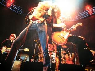 Led Zeppelin onstage