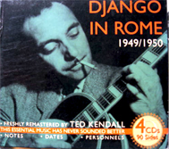 Django Reinhardt in Rome box set