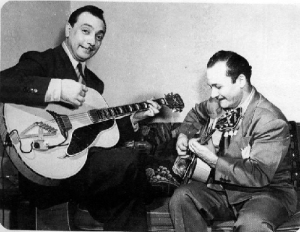 Django Reinhardt and Harry Volpe NY 1946